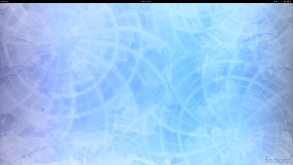 Default wallpaper in Fedora 31