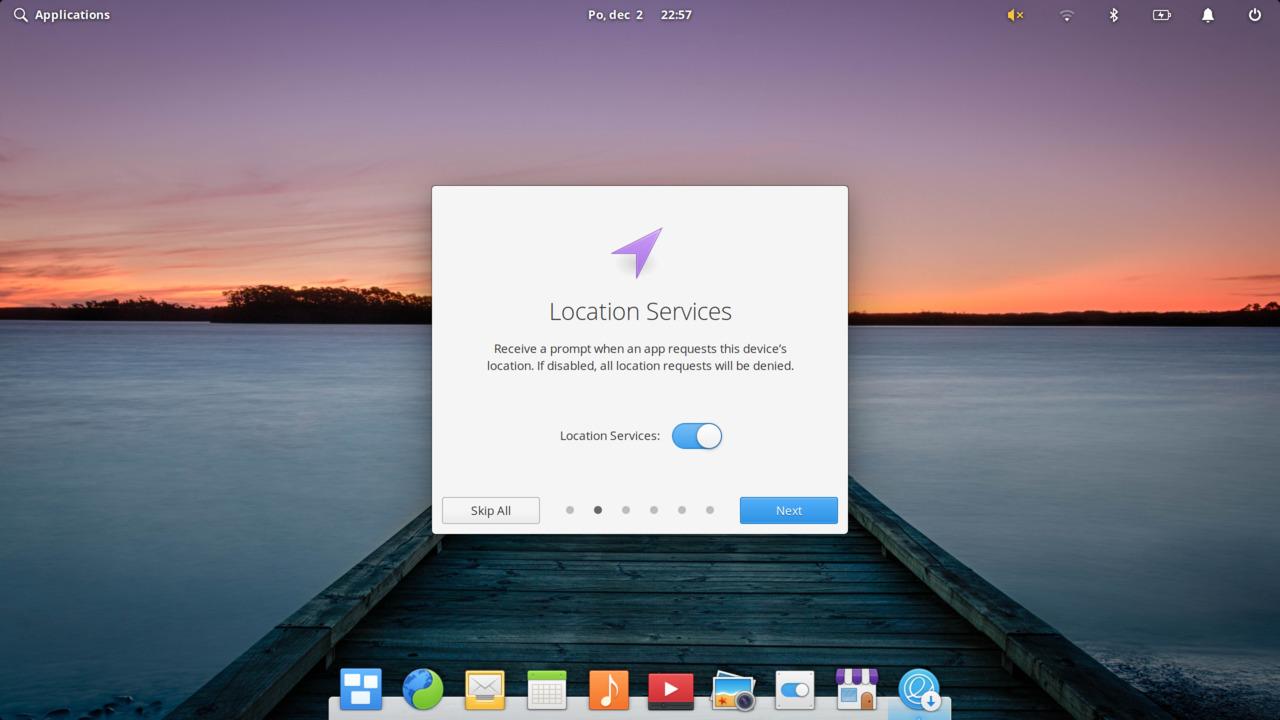 Elementary OS 5.1 Hera Greeter